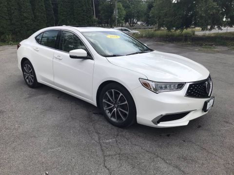 Certified Pre-Owned 2018 Acura TLX 3.5 V-6 9-AT P-AWS FWD 4dr Car